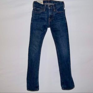 Abercrombie Kids Slim Straight Denim Jeans Sz 12